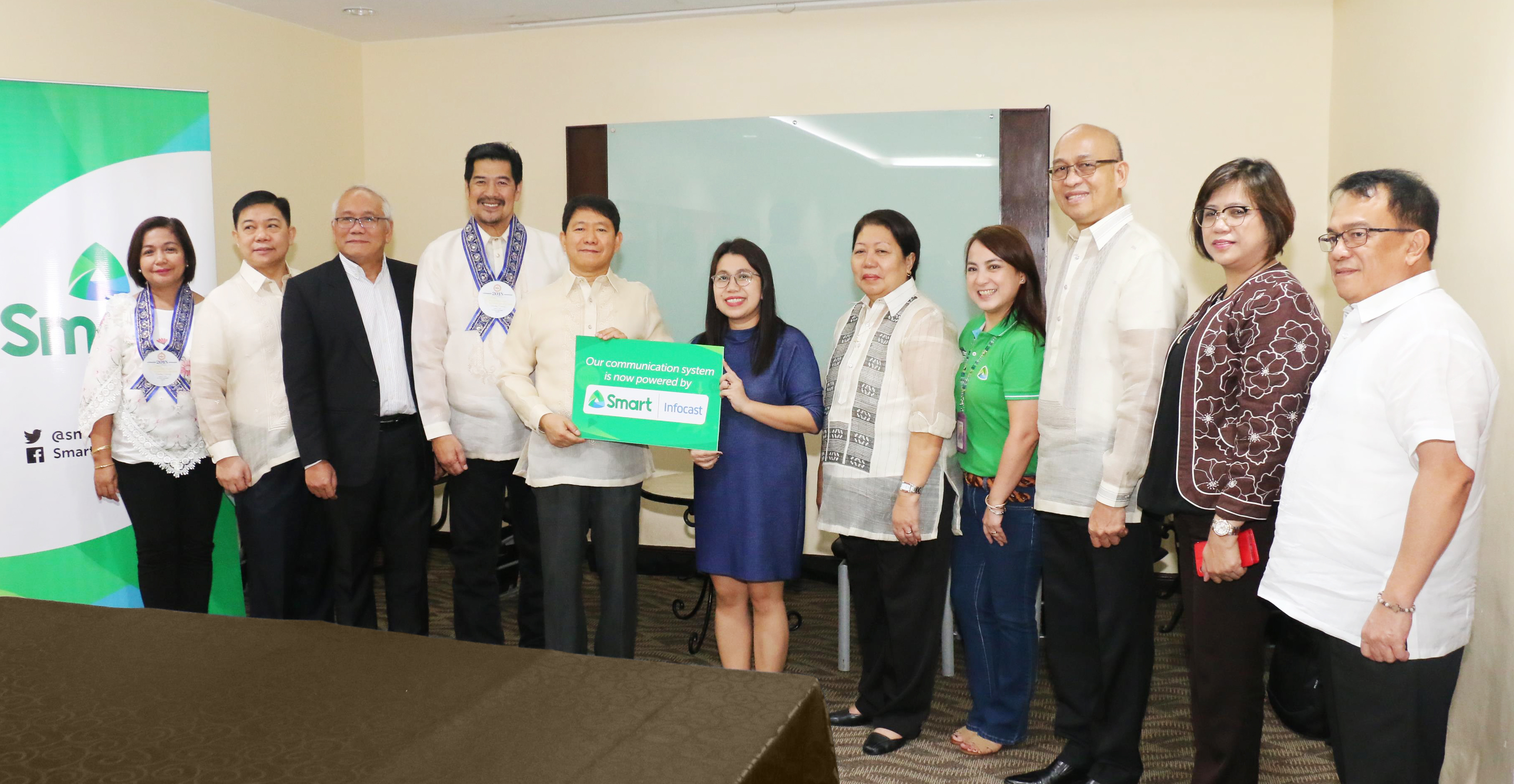 DILG taps Smart Infocast to boost communication, disaster preparedness