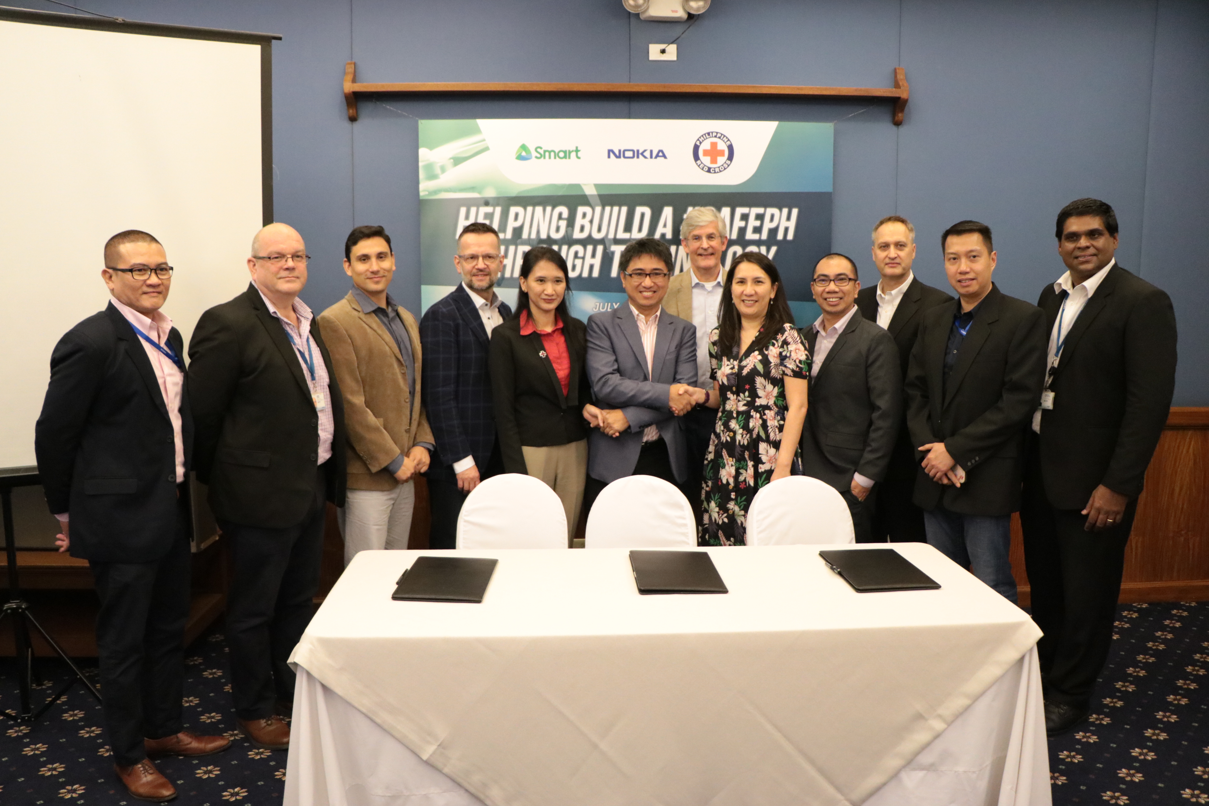GSMA to support disaster response cooperation between Smart, Nokia, PH Red Cross
