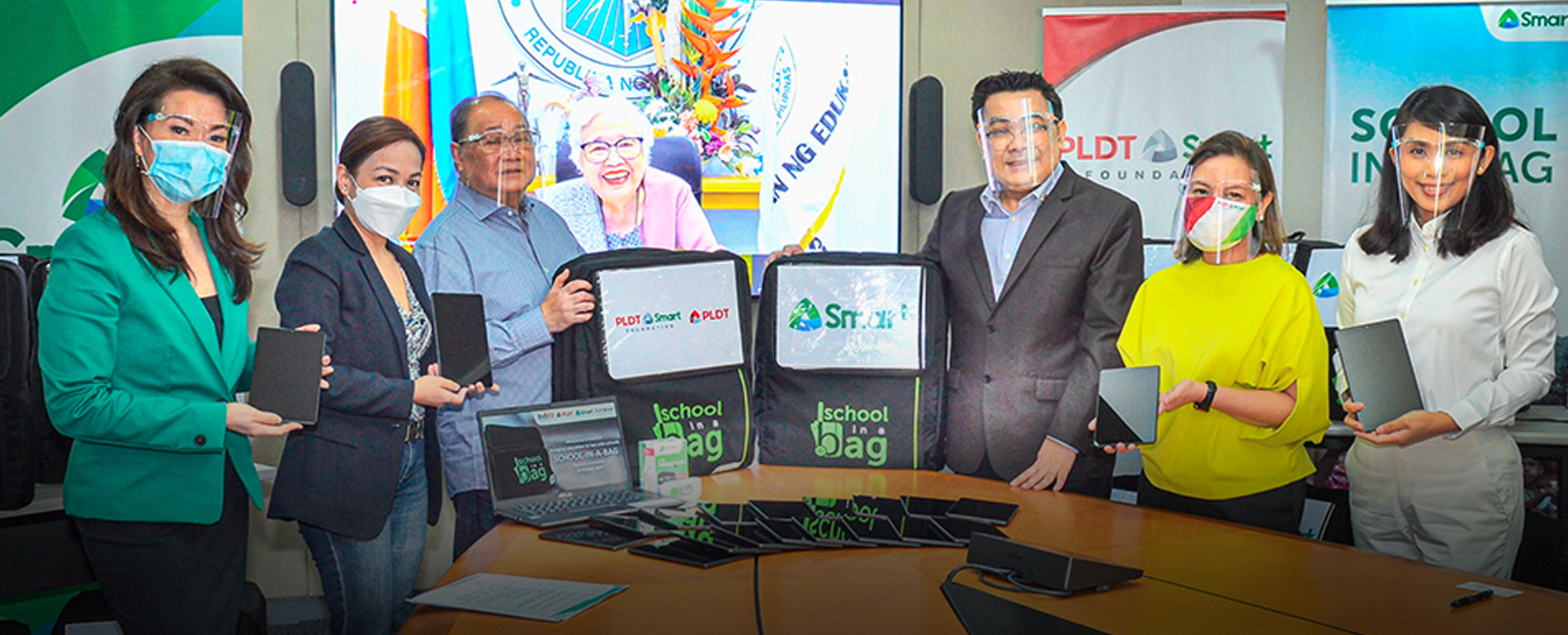 More teachers, learners to receive devices for distance learning through PLDT Group's School-in-a-Bag donation to DepEd