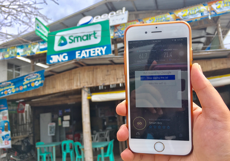 Network upgrade in Puerto Princesa boosts businesses and Smart retailers sales