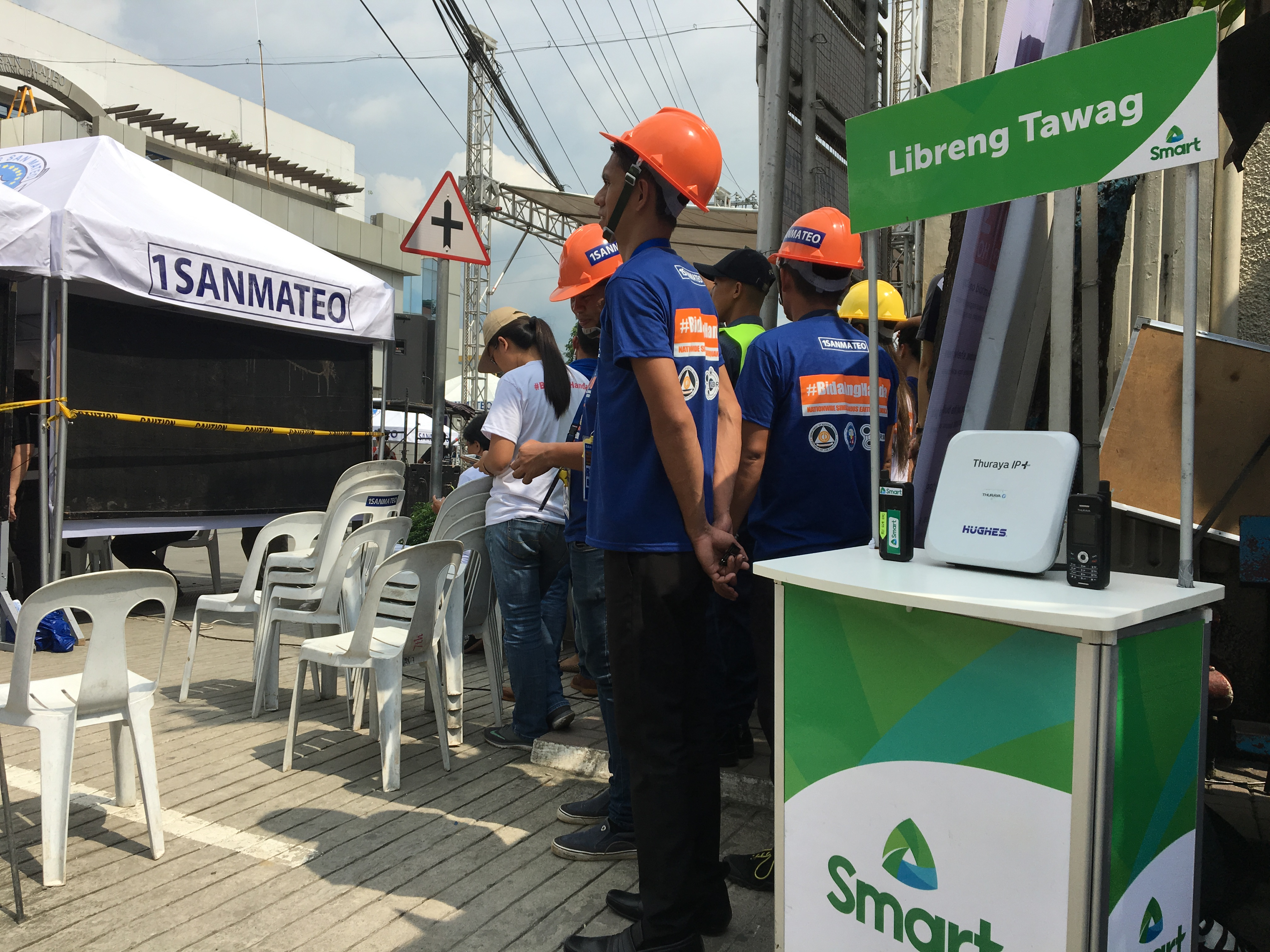 Smart deploys emergency solutions at Rizal quake drill