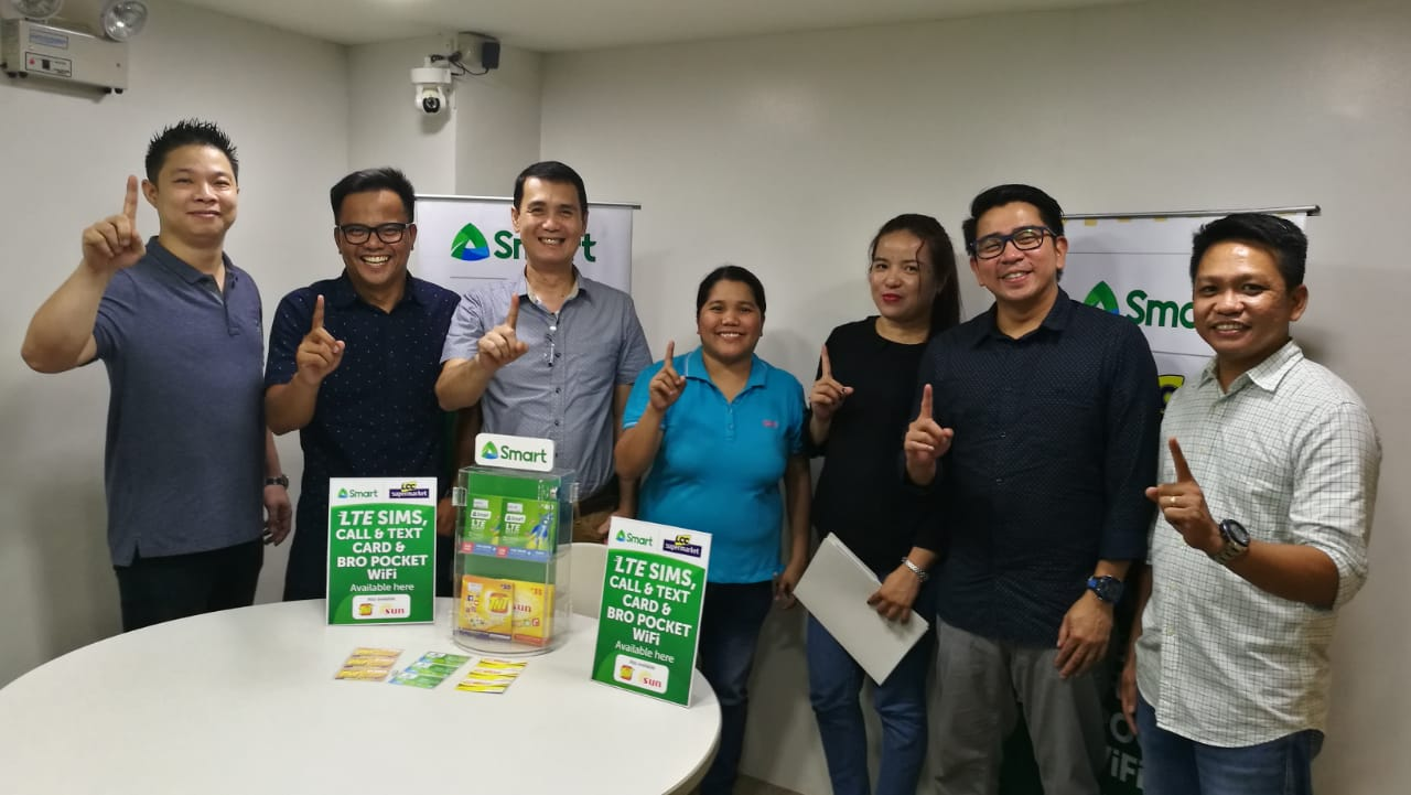 Smart Prepaid products now available at LCC