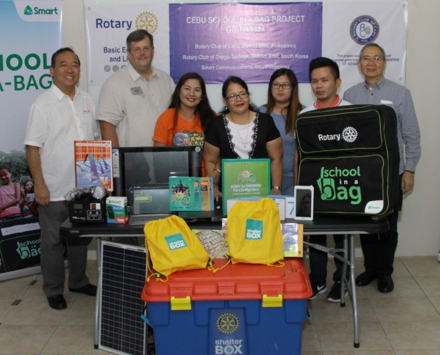 Smart, Rotary Club bring digital learning to remote schools in Cebu