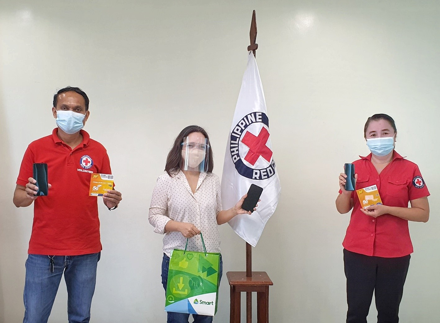 Smart scales up Red Cross-CDO COVID-19 response efforts