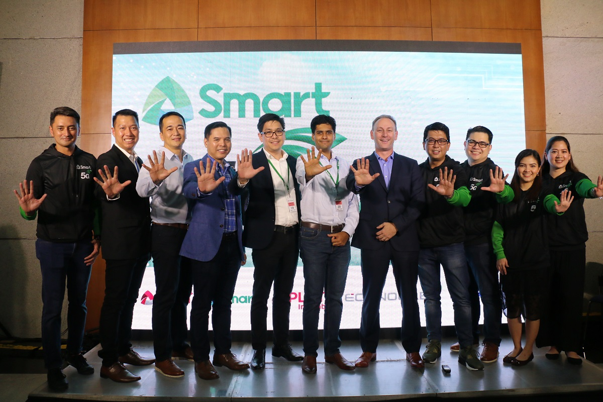 Smart stages 5G Technofest with Nokia-officials