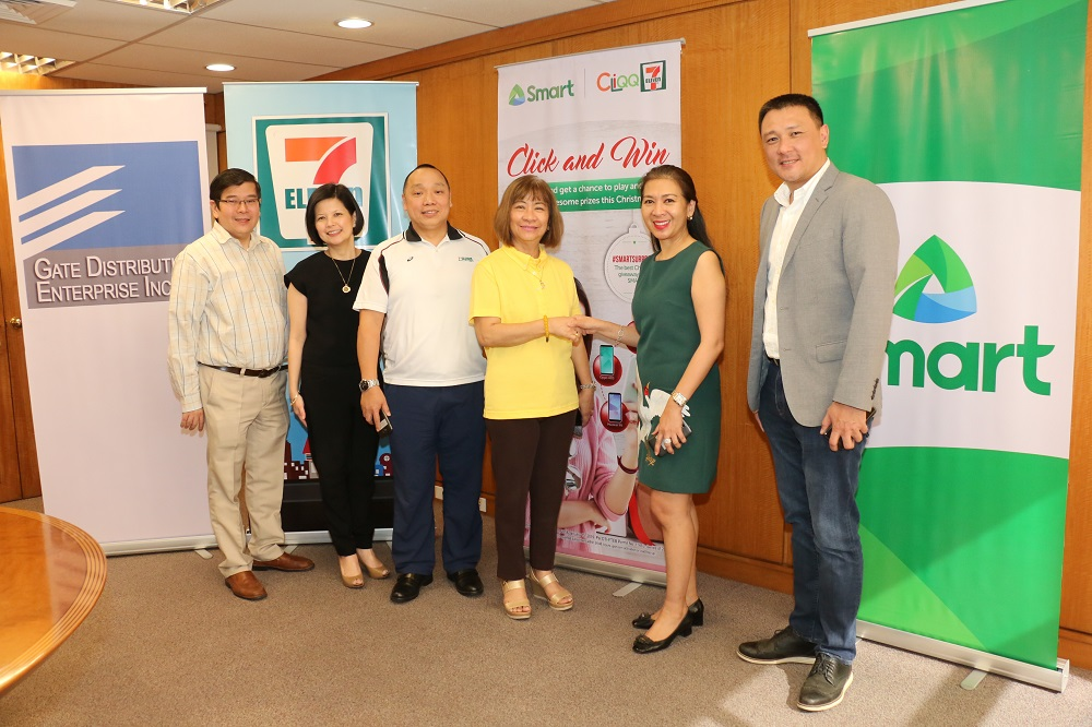 Smart TNT Sun subscribers can win instant prizes from 7-Eleven this Christmas season1