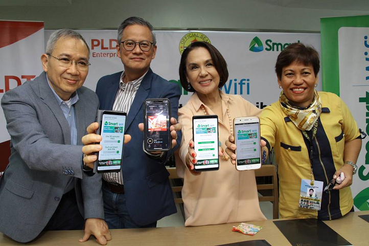 Smart Wifi now in Cebu City Public Library