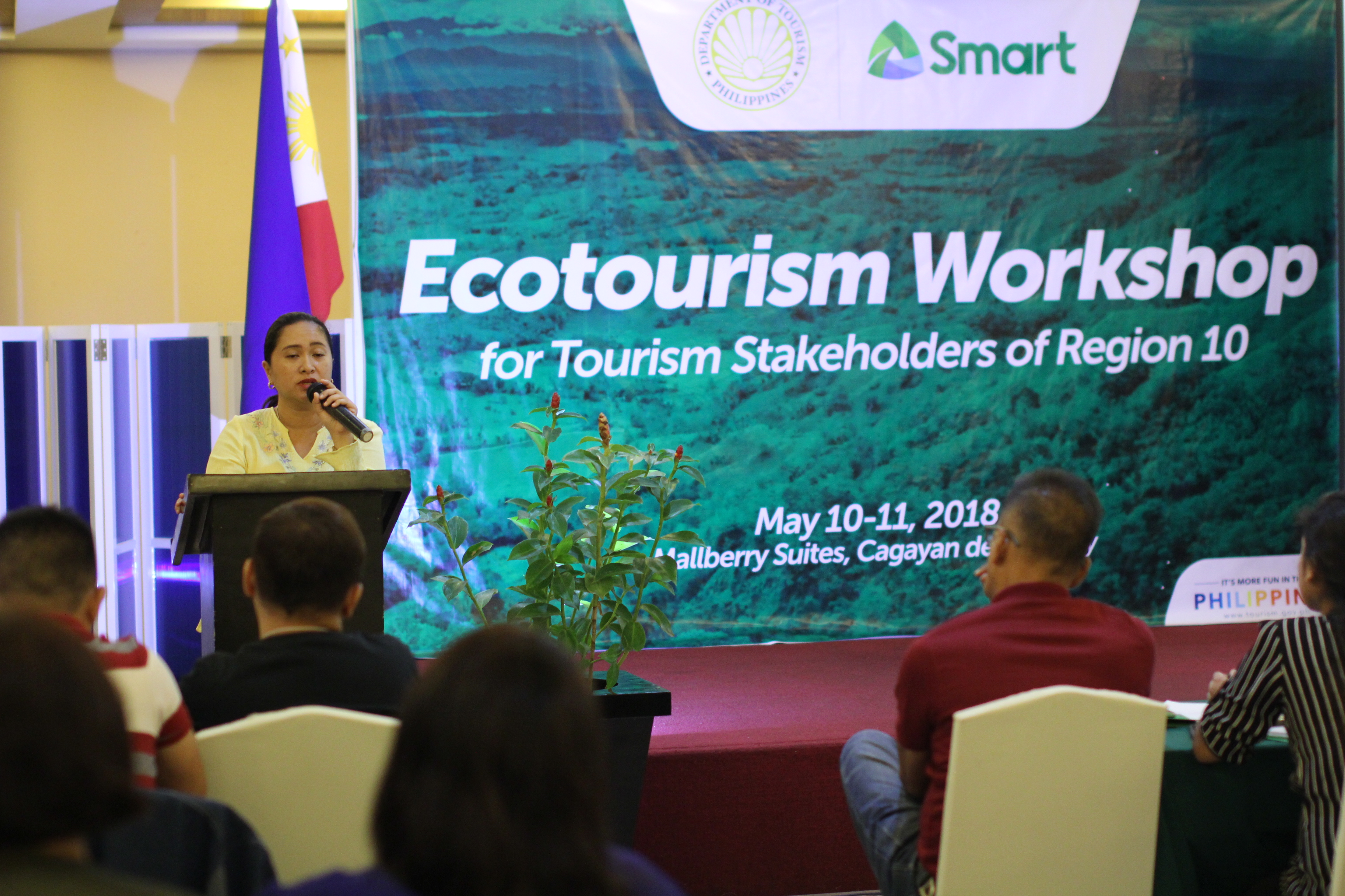 Elaine Unchuan ecotourism workshop CDO