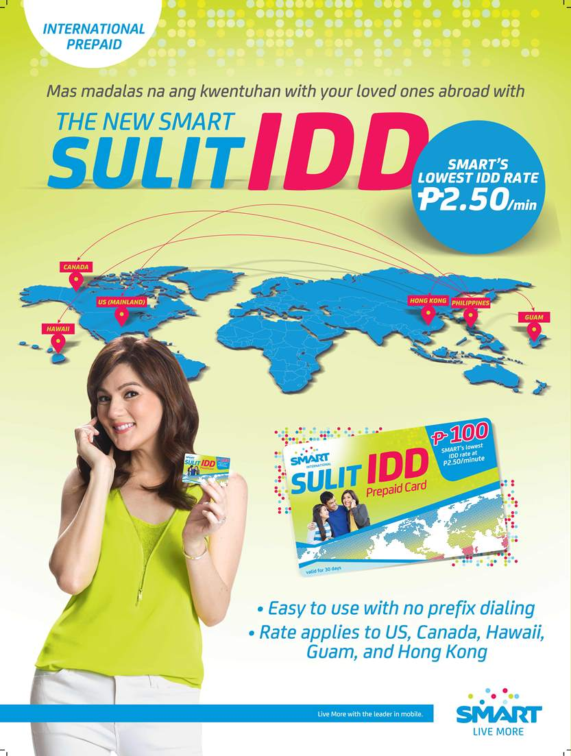 Smart unveils Sulit IDD Card for easier, more affordable