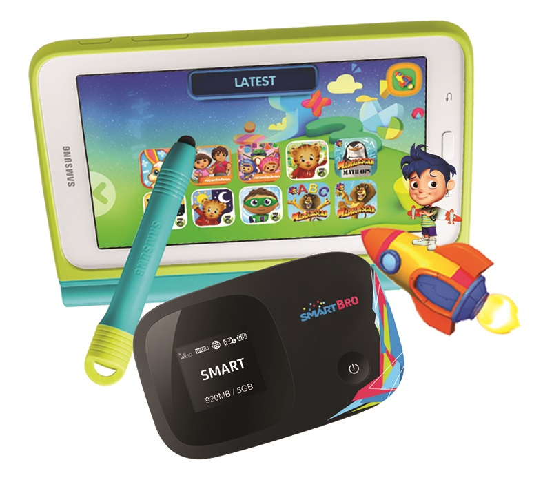 Smart, Samsung offer the perfect app and gadget bundle for kids