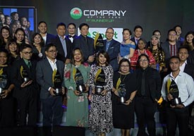 PLDT Group shines at this year's Quill Awards