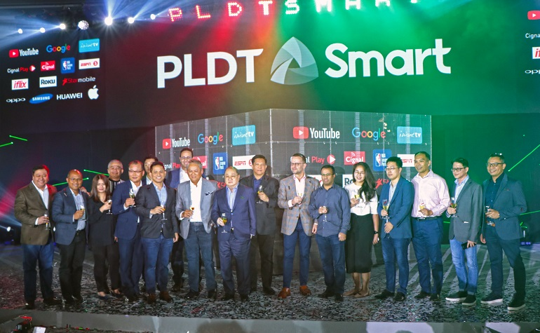 PLDT, Smart unlock new products, services