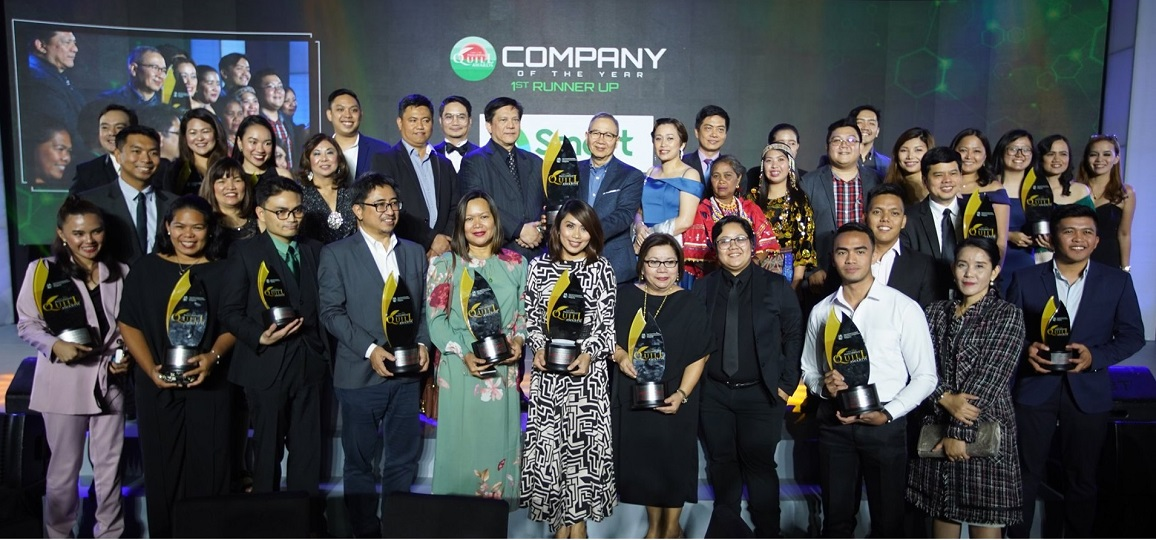Smart - Company of the Year 1st runner up - Quill Awards 2019 - V1