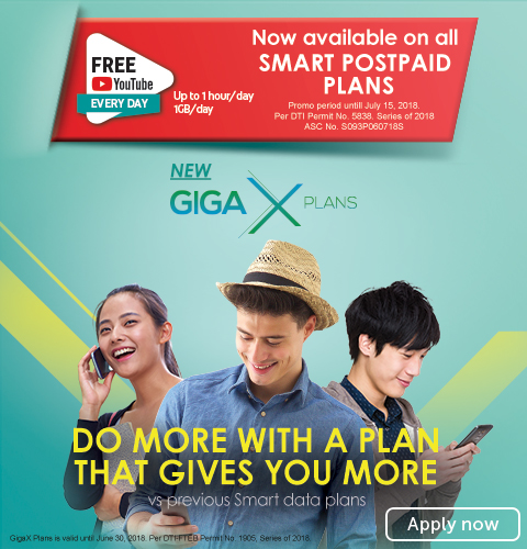 giga x with exclusive offers