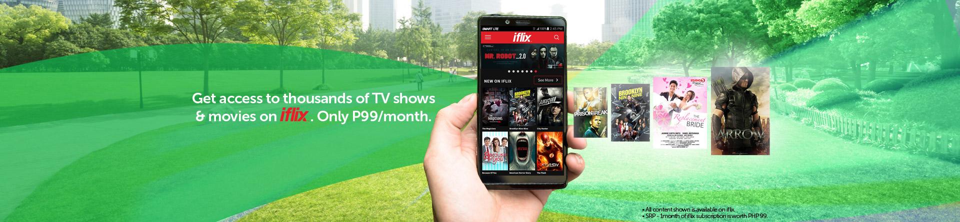 Iflix smart communications smart prepaid iflix desktop banner stopboris Gallery