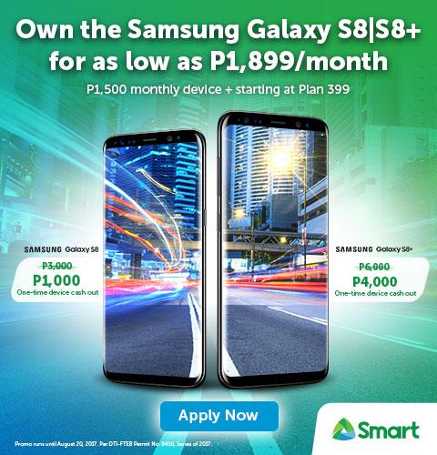 Samsung Galaxy S8 - Smart Postpaid - Smart Communications, Inc