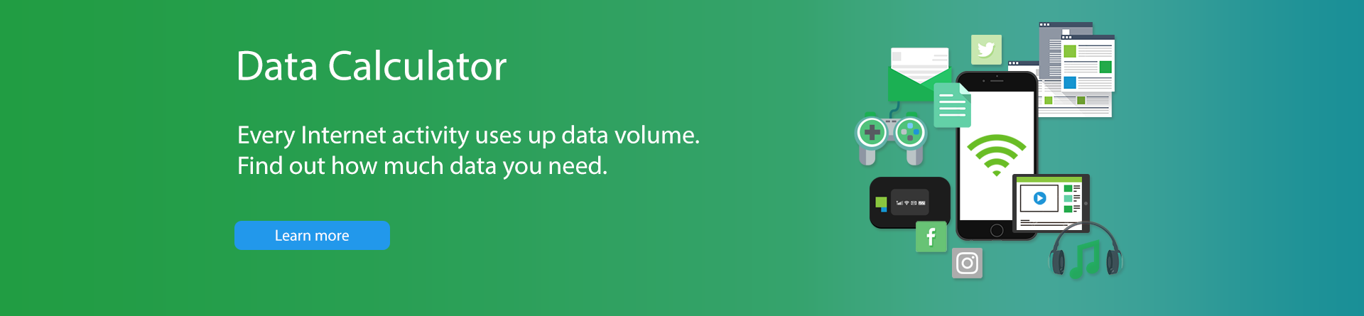 calculate your average data usage