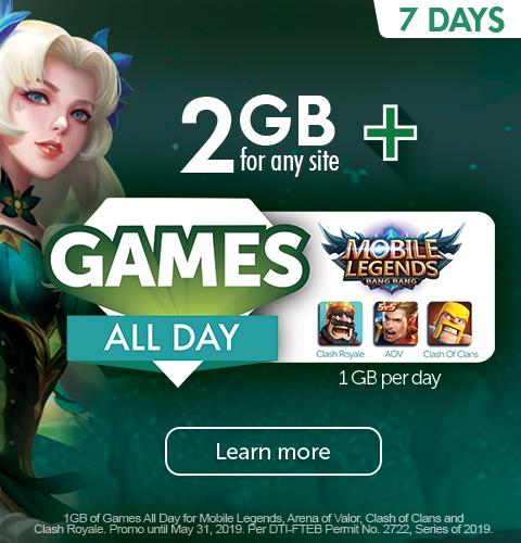 Smart GIGA Games - Smart Prepaid - Smart Communications, Inc