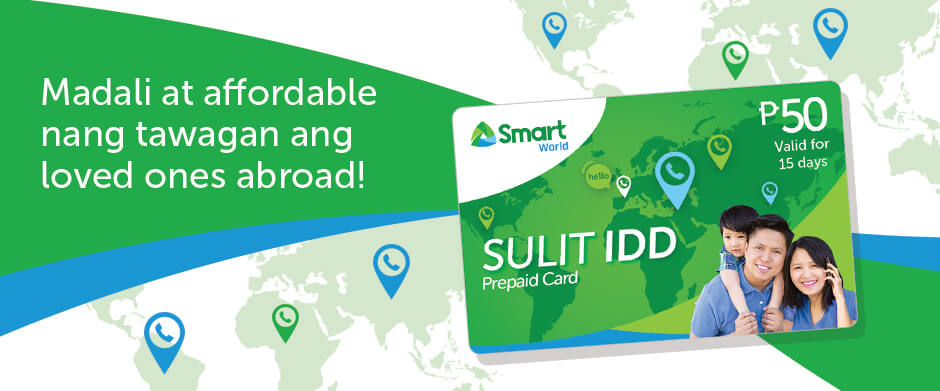 Call International with Smart IDD - Smart International - Smart