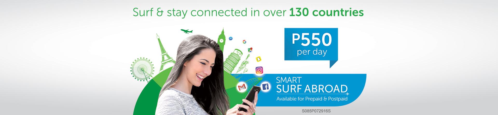 Prepaid Surf Abroad - Smart International - Smart Communications